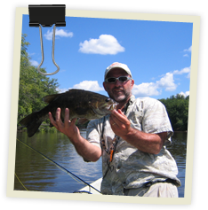 Guided Bass Fishing Trips from St. Croix Valley Adventures