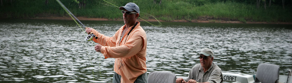 Fly Fishing Trips from St. Croix Valley Adventures!