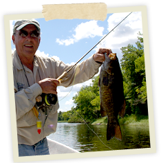 St. Croix Valley Adventures offers seasonal Guided Bass Fishing Trips!
