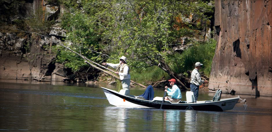 St. Croix Valley Adventures offers guided fishing trips on the St. Croix River.