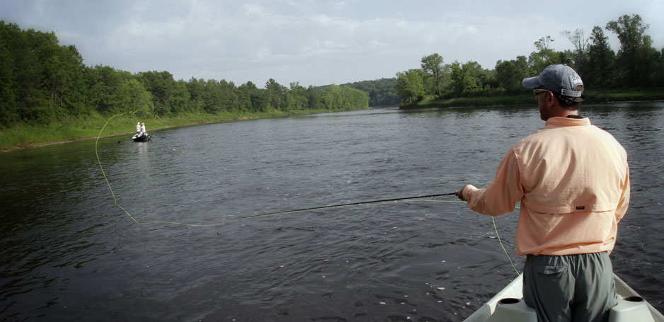 Minnesota Fly Fishing Trips on the St. Croix River.