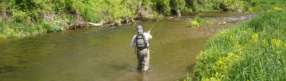 Minnesota Trout Fishing Trips from St. Croix Valley Adventures.