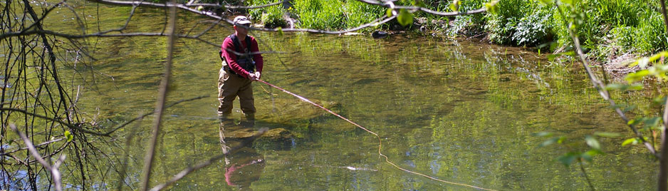 St. Croix Valley Adventures offers full day or half day Trout Fishing Trips.